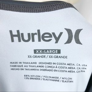 Hurley Swim - HURLEY men's rash guard XXL